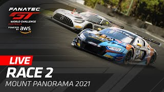 WE'RE LIVE FROM BATHURST  AUSTRALIA - RACE 2 - FANATEC GT WORLD CHALLENGE AUSTRALIA 2021