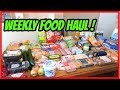 WEEKLY FOOD HAUL & MEAL PLAN ~ FAMILY OF FIVE