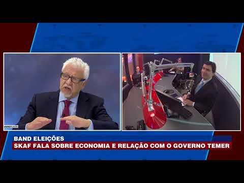 Skaf fala sobre economia e relação com o Governo Temer