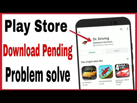 Download Play Store me download pending problem in hindi mi phone