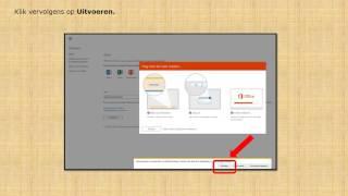 Installatie van Office 365 - Nieuw