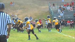 West Warwick Steelers Youth Football, Game 2: 2015-08-30