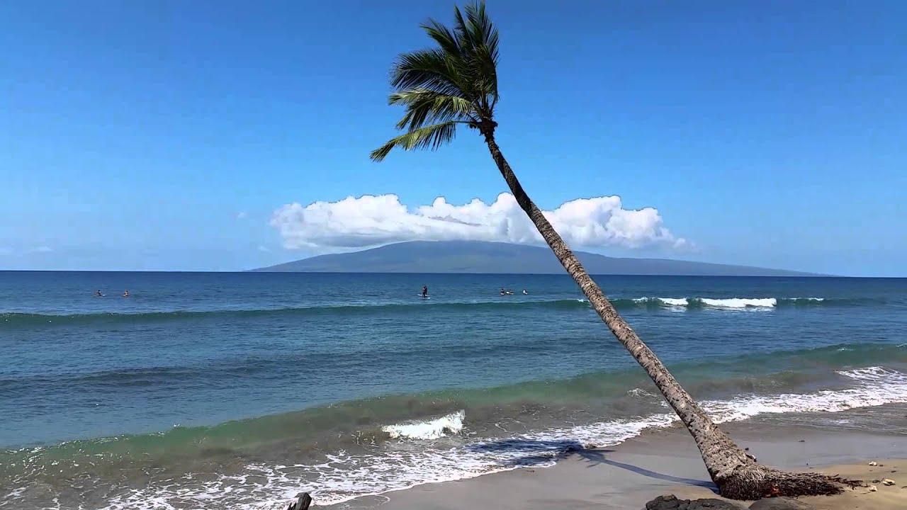 Puamana Beach In Maui Hawaii