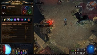 Path of Exile Freezing Pulse Witch /84Level Play Maps patch 3.2.1