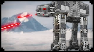 ✔ Minecraft: How to make an AT-AT Walker
