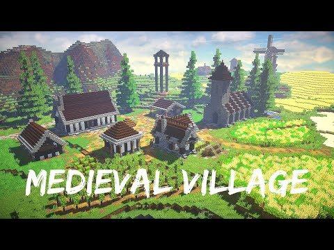 Minecraft Timelapse: Medieval Village