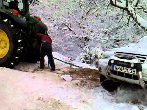 TRACTOR IN SNOW 3 FINAL CUT-ΤΡΑΚΤΕΡ ΣΤΑ ΧΙΟΝΙΑ