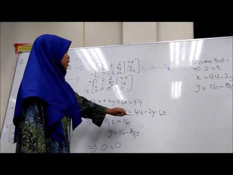 Matrices- gaussian elimination method (SCL)