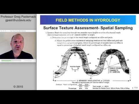 Field Methods in Hydrology, Chapter 11- Surface Sediment Sampling and Measurement, Part 1