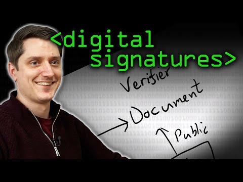 What are Digital Signatures? - Computerphile