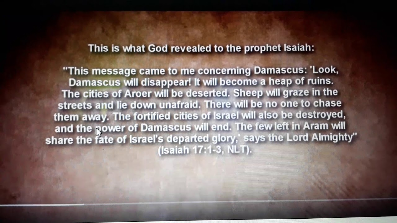 Download 11419 power of Damascus will come to its end & on TV it will be destroyed along with Isreal & Philly