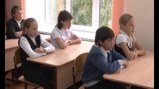 В кабинете домоводства, оборудованном на деньги работников «Химпрома» состоялся открытый урок