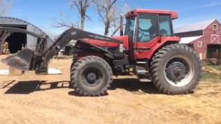 case ih 7120 magnum tractor with loader for sale