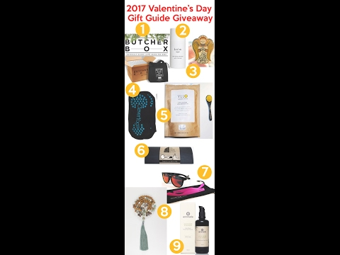 2017 Valentine's Day Gift Guide Giveaway