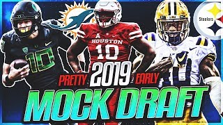 Way To Early 2019 NFL Mock Draft   Dolphins Draft Franchise QB At 1!