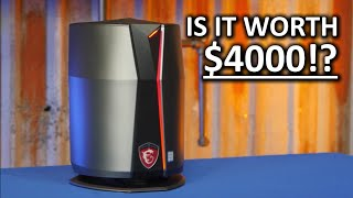 Two GTX 980s in a trashcan!? - MSI Vortex G65 Review