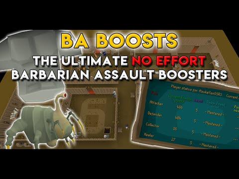 NO EFFORT BARBARIAN ASSAULT REWARDS: The Best BA Boosting Service in OSRS