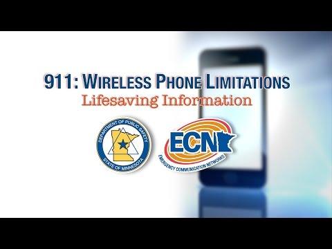 911: Wireless Phone Limitations - Lifesaving Information