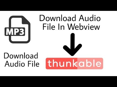 Download Songs In Webview Thunkable | How to Solve Download Problem In  Thunkable