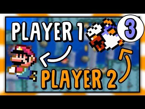 Player 2 Controls the Enemies | Super Mario World Rom Hack [Part 3]