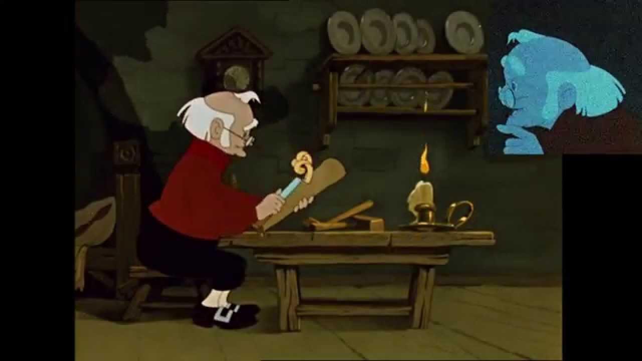 Картинки анимация полено папы карло, надписи