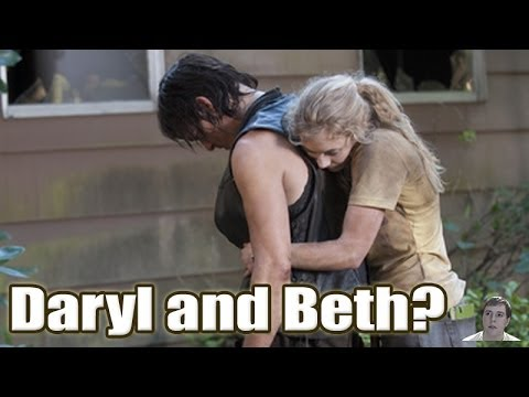 the walking dead comic daryl and beth relationship