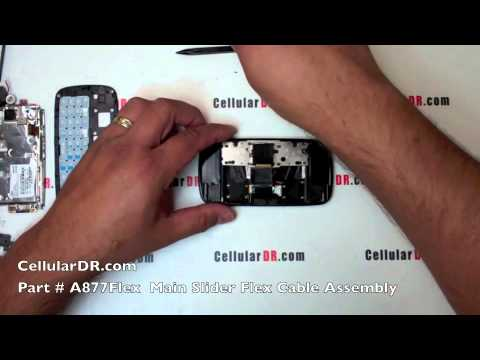 AT&T Samsung Impression Repair Video SGH-A877 Disassembly Take Apart