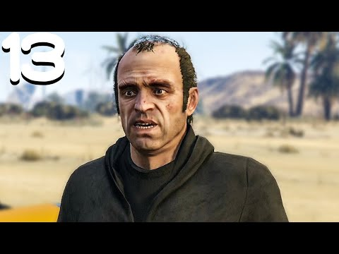 Trevor's Failed Heist - Grand Theft Auto 5 - Part 13