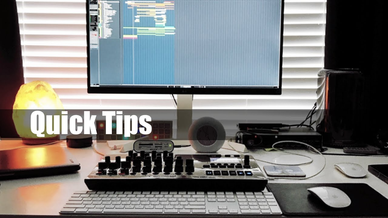 Quick Tip How To Build A Midi Keyboard Slider For Your Home Studio Desk