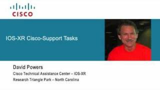 IOS-XR Cisco Support Tasks