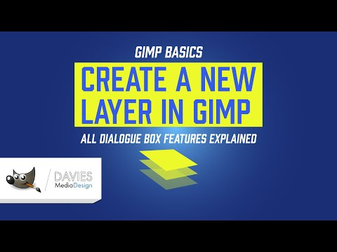 GIMP 2.10 Basics: Create a New Layer (All Features Explained) thumbnail
