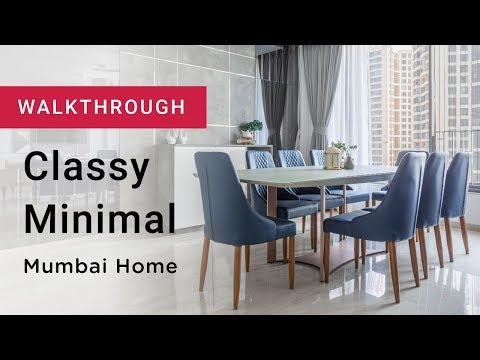 Walkthrough: Contemporary Mumbai Interior Design