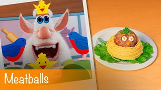 Booba - Food Puzzle: Meatballs - Episode 15 - Cartoon for kids