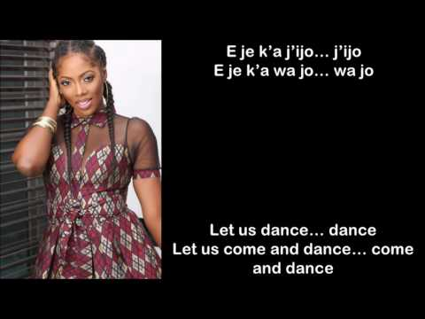 Tiwa Savage Ft. Olamide -  Standing Ovation Lyrics / English Subtitles