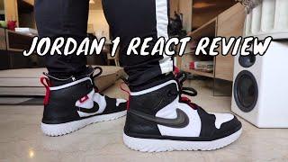 JORDAN 1 REACT ON-FEET REVIEW!