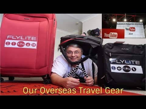 Our Overseas Travel gear - Philippines 2018