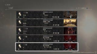 CODE VEIN Speedrun All boss(17 bosses) in game time [02:45:12]