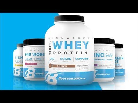 Bodybuilding.com Signature Supplements