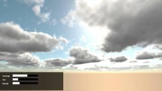GLSL Realtime Volumetric Clouds Rendering by JeuneLoup81