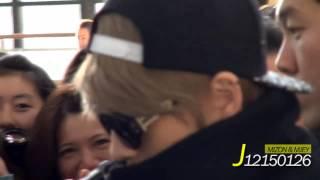 131110 Kim Jaejoong at Gimpo Airport to Japan