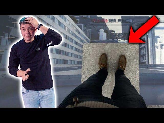 YouTubers enfrentan su peor fobia, La Altura.
