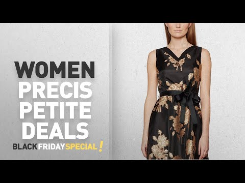 Black Friday Women Precis Petite Deals: Precis Petite Women's Jacquard Prom Dress