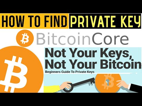 How To Get Private Key Of Bitcoin Wallet | How To Find Bitcoin Private Key