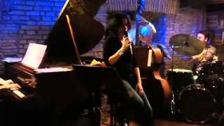 A flower is a love something - Alice Ricciardi - live jazz @ Gregory
