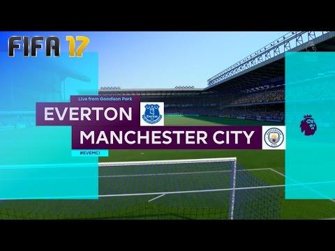 FIFA 17 - Everton vs. Manchester City @ Goodison Park