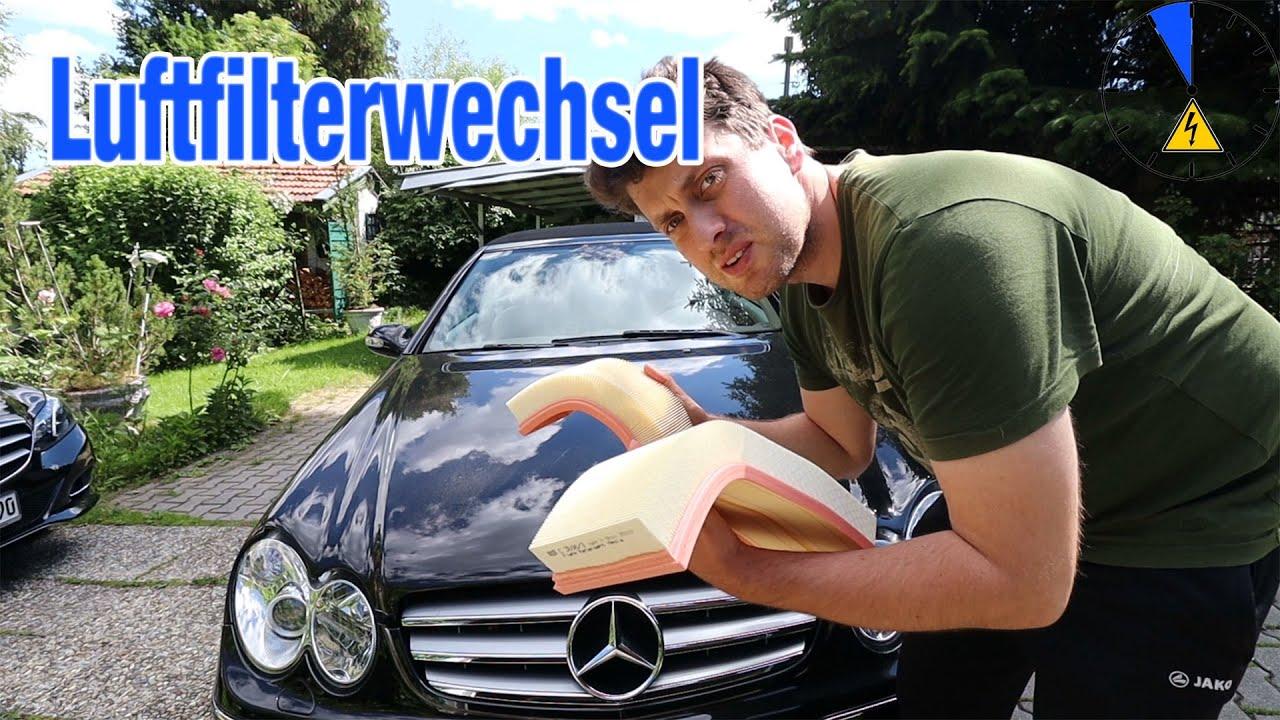 Luftfilterwechsel Mercedes 350 Motor M272 | Air Filter Replacement