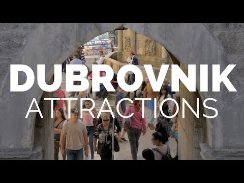 10 Top Tourist Attractions in Dubrovnik - Travel Video
