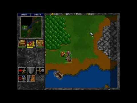 Warcraft 2: Beyond the Dark Portal - Human Campaign Gameplay - Mission 1