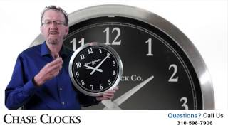 Learn How This Metal Wall Clock  Adjust For Daylight Savings Time