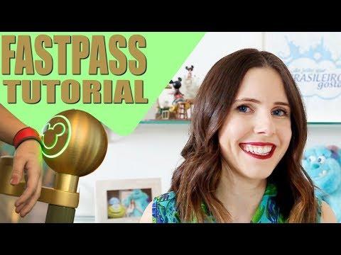 TUTORIAL FASTPASS DISNEY | Como funciona, PASSO A PASSO como AGENDAR